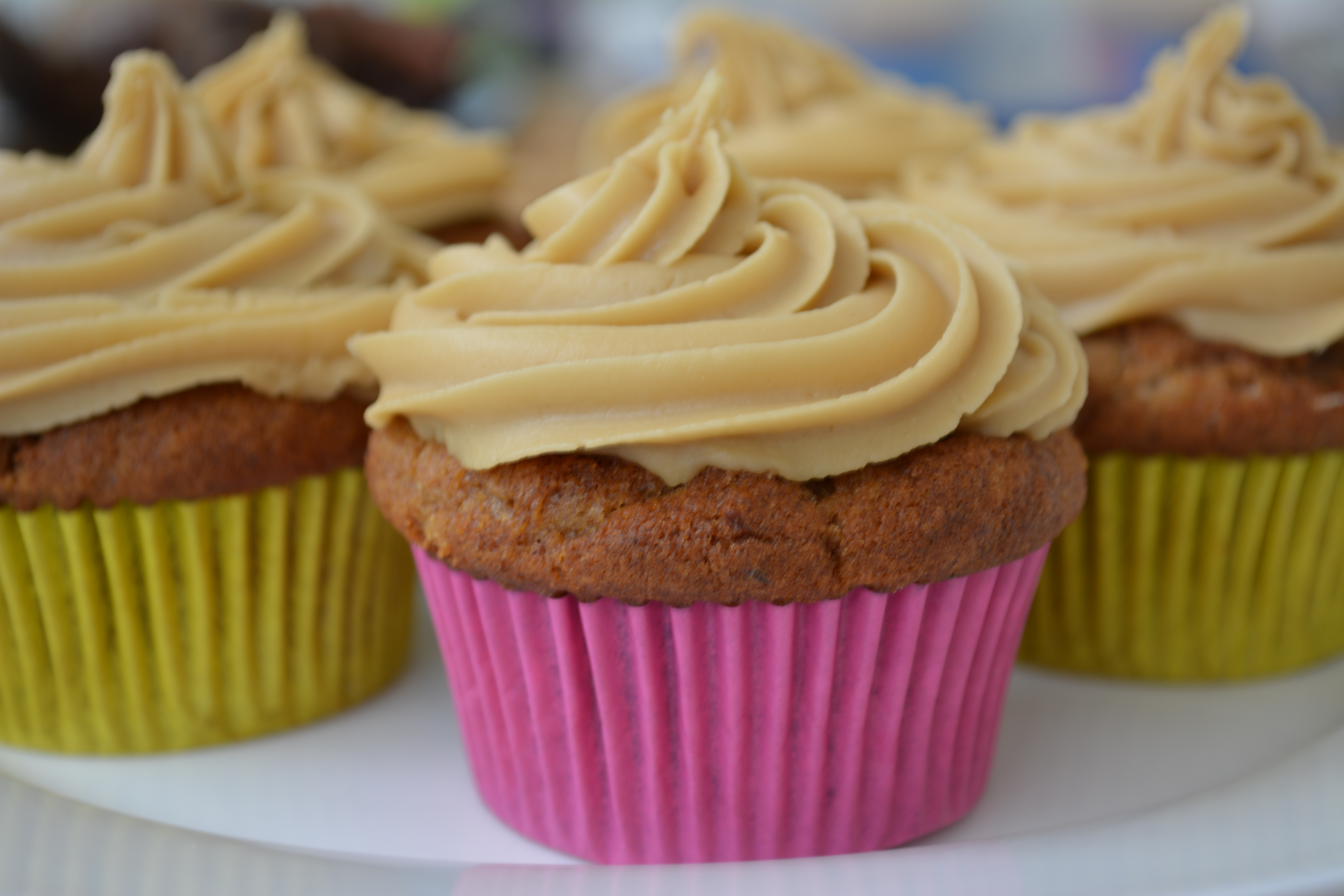 Gluten-free sticky date cupcakes with butterscotch icing | Gluten-free ...