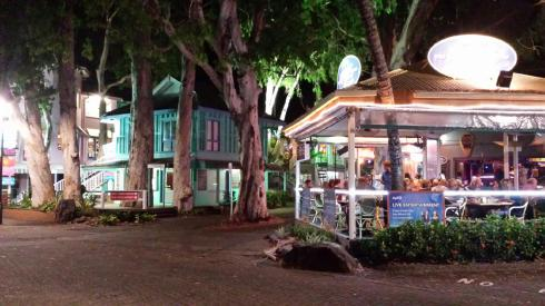 Palm Cove by night