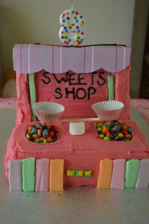 Sweets Shop Cake