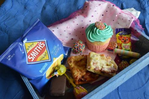 Gluten-free party lunchbox